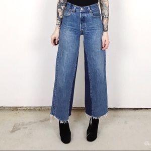 Levi's re done vintage jeans size 23